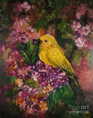 Brilliant Painting - Spring Comes by Sandra Gallegos