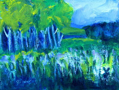 Painting - Spring Coming by Betty Pieper