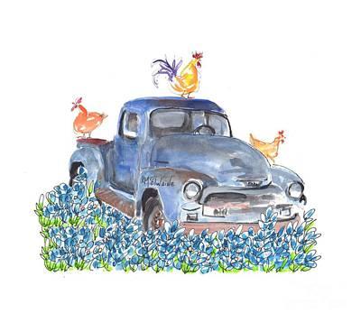 Painting - Spring Coop Pe016 by Kathleen McElwaine