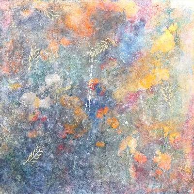 Painting - Spring Creation by Theresa Marie Johnson
