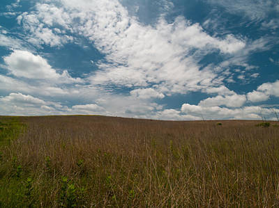Art Print featuring the photograph Spring Creek Prairie by Joshua House
