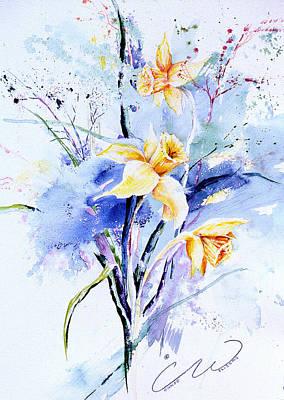 Spring Daffidolds Art Print