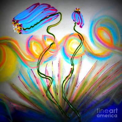 Pastel - Spring Dance by L Cecka