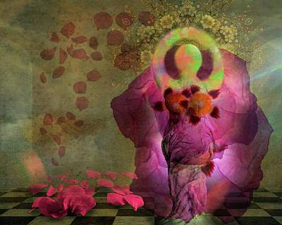 Digital Art -  Spring Dance by Terry Fleckney