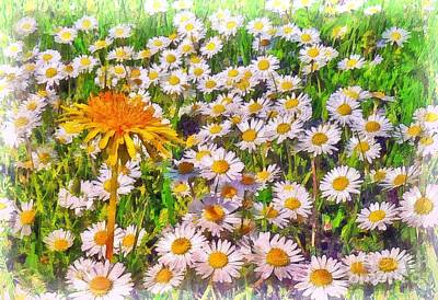 Digital Art - Spring Dandy 2015 by Kathryn Strick