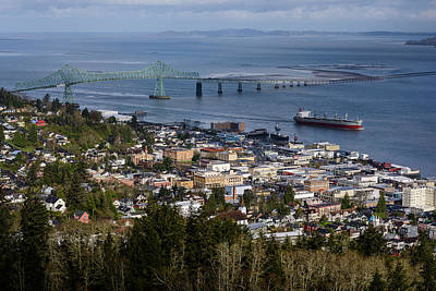 Photograph - Spring Day Astoria by Robert Potts