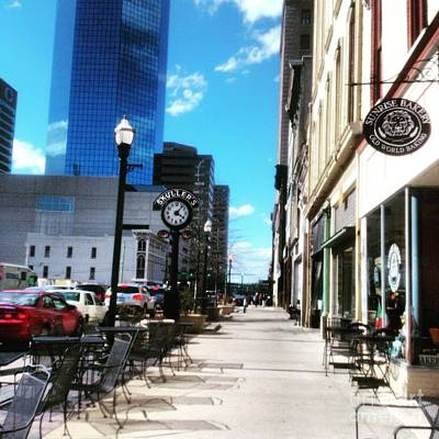 Photograph - Spring Day In Downtown Lexington, Ky by Rachel Maynard