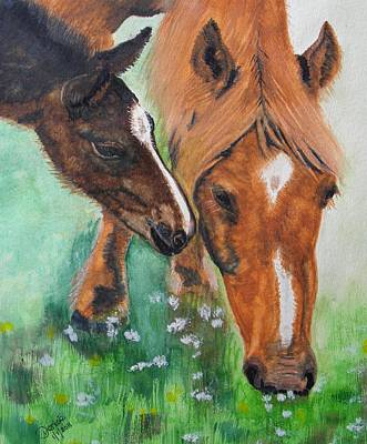 Spring Day In The Meadow Art Print