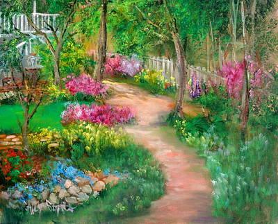 Spring Daze Art Print by Sally Seago