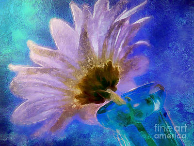 Flower Abstract Digital Art - Spring Delivery by Krissy Katsimbras