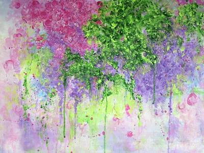 Painting - Spring Dreaming by T Fry-Green