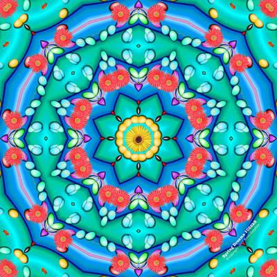 Digital Art - Spring Dreams 1022k8 by Brian Gryphon