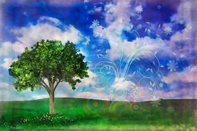 Digital Art - Spring Dreams by Anna Louise