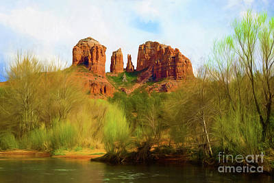 Spring Dreams At Cathedral Rock Original