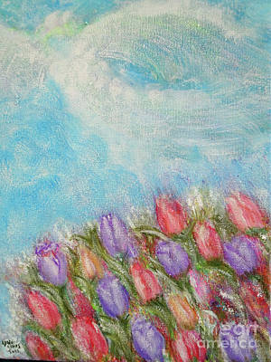 Painting - Spring Emerging by Lyric Lucas