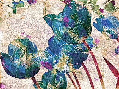 Spring Energies 10 Art Print by Lynda Lehmann