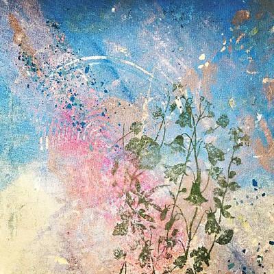 Mixed Media - Spring Equinox by Susan Richards