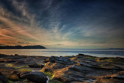 Photograph - Spring Evening At Madrona by Randy Hall