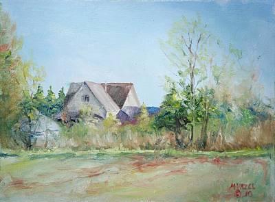 Spring Evening Original by Mike Yazel