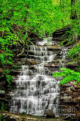 Photograph - Spring Falls by Randy Rogers