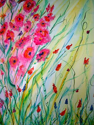 Painting - Spring Fantacy by Carol Warner