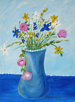 Painting - Spring Fantasy One by Barbara McDevitt