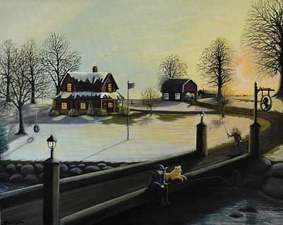 Spring Farm 2 Art Print by Kimberly Benedict