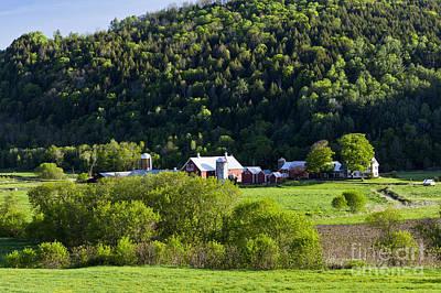 Photograph - Spring Farm Landscape by Alan L Graham