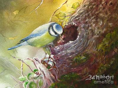 Painting - Spring Feeding by Patricia Schneider Mitchell