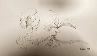 Mixed Media - Spring Feelings 2 by Denise Fulmer