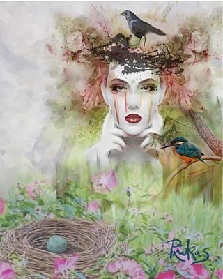 Digital Art - Spring Fever #2 by Diana Riukas
