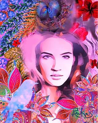 Digital Art - Spring Fever #4 by Diana Riukas