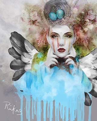 Digital Art - Spring Fever by Diana Riukas