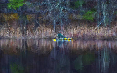 Photograph - Spring Fishing by Tricia Marchlik
