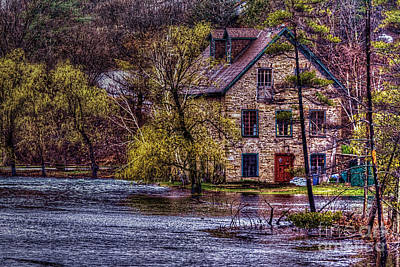 Spring Flood Art Print