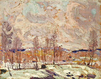 Painting - Spring Flood by Tom Thomson