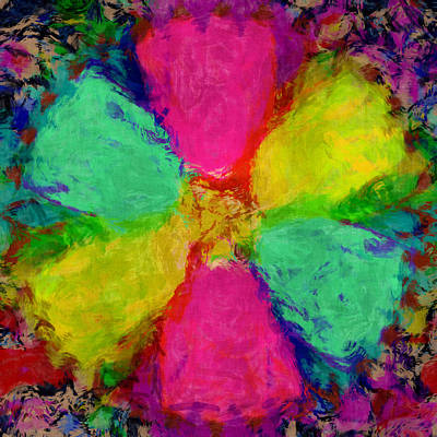 Digital Art - Spring Floral by Susan Leggett