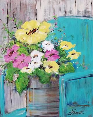 Painting - Spring Floral by Terri Einer