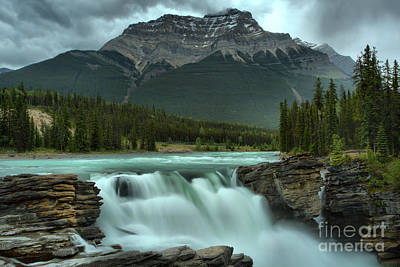 Photograph - Spring Flow At Athabasca Falls by Adam Jewell