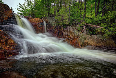 Photograph - Spring Flow At Smalls Falls by Rick Berk
