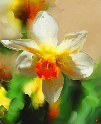 Painting - Spring Flower by Jai Johnson