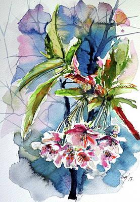 Painting - Spring Flower by Kovacs Anna Brigitta