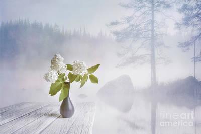 Landscapes Mixed Media - Spring flowers 2 by Veikko Suikkanen