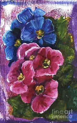 Painting - Spring Flowers by Alga Washington