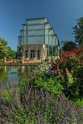 Photograph - Spring Flowers At The Jewel Box by Garry McMichael