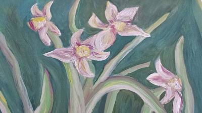 Painting - Spring Flowers by Cherie Sexsmith