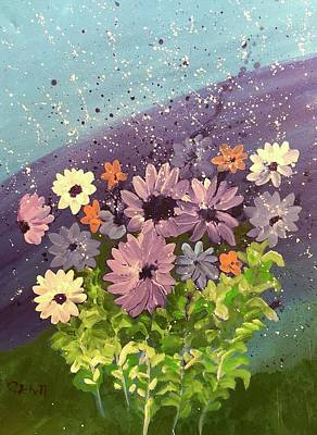 Painting - Spring Flowers by Christina Schott