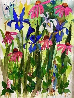 Painting - Spring Flowers by Esther Woods