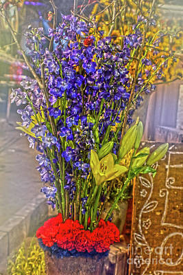 Photograph - Spring Flowers For Sale by Sandy Moulder