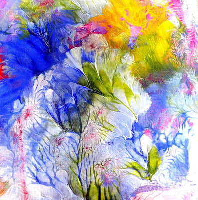 Painting - Spring Flowers by Fred Wilson